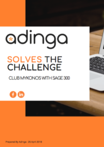 adinga solves the challenge case study pdf