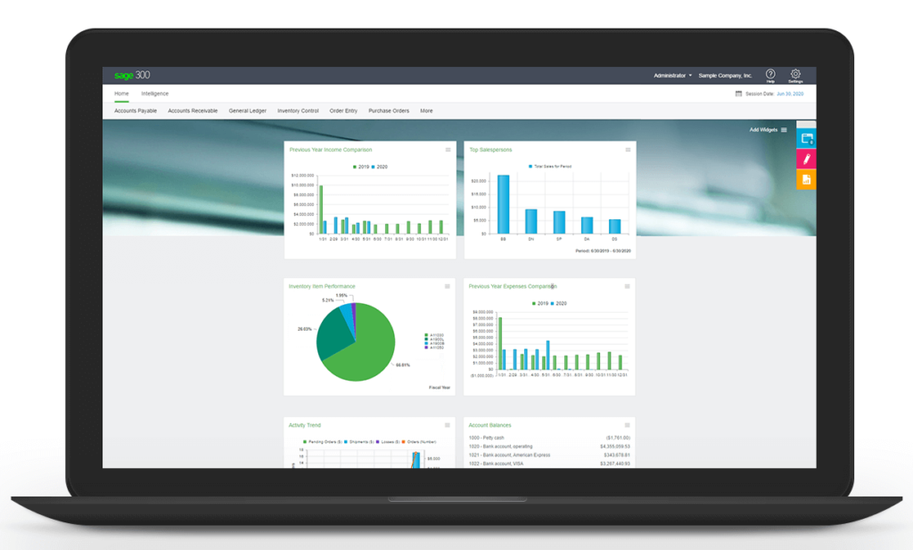 SAGE 300c Version 2019 Now Available