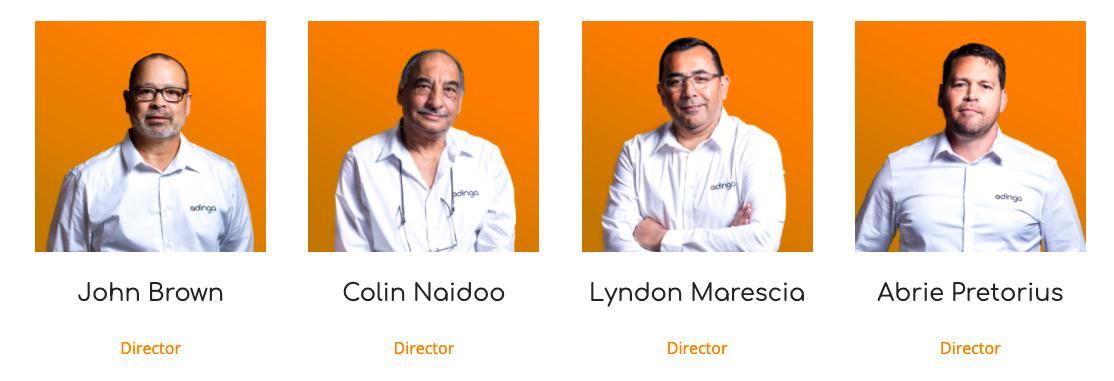 Adinga Leadership Team